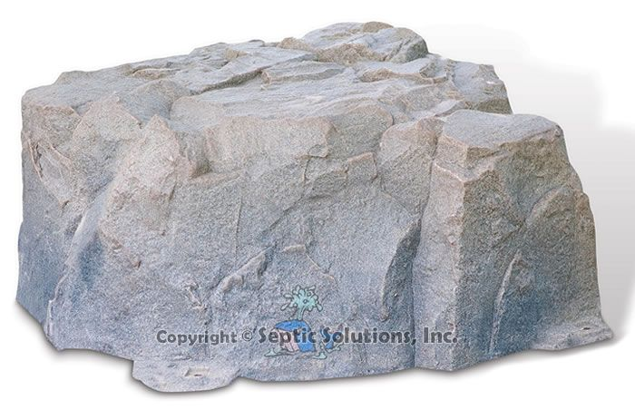 Artificial Rock Covers To Hide Your Septic Tank Lid Love
