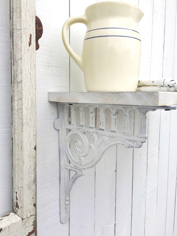 large cast iron brackets victorian decor rustic barnyard french and garden decor - Open Garden Decor