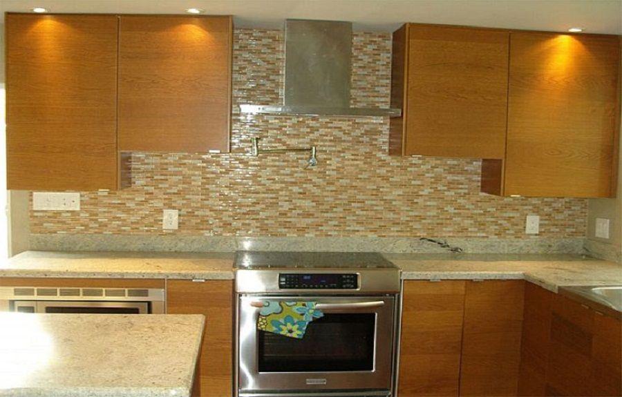Design Ideas For Kitchen Backsplashes Glass Tile -- http://kaamz.com ...