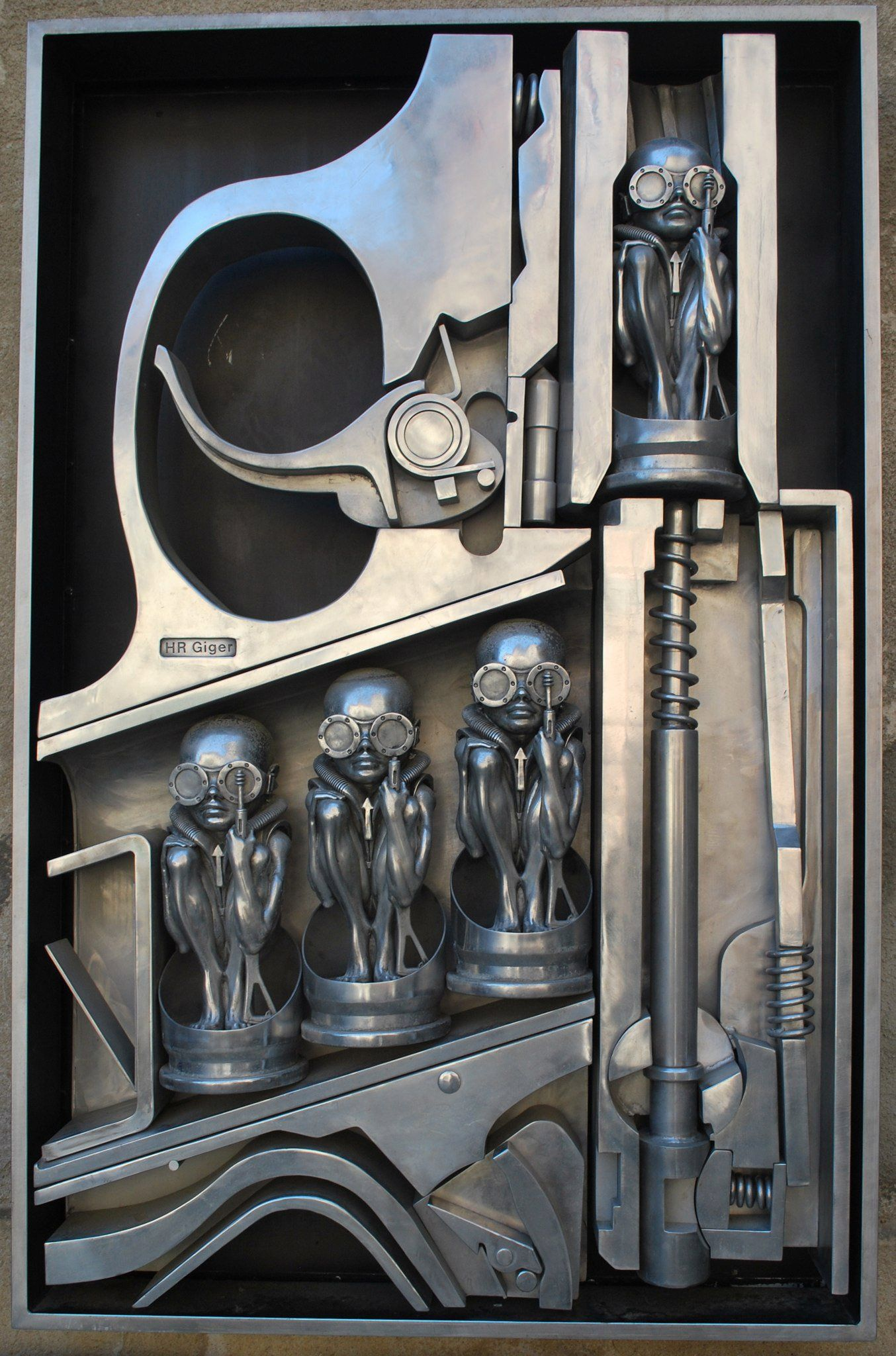 Til Late Artist Hr Giger Decorated His House Like His Art And Included A Haunted Train Ride And A Penis Guillotine