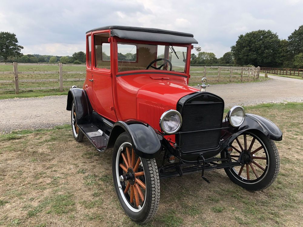 eBay 1926 Ford Model T Coupe, Great condition, UK