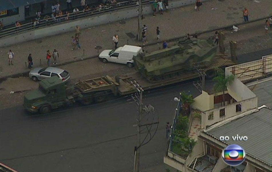 2010 Rio de Janeiro Security Crisis.
