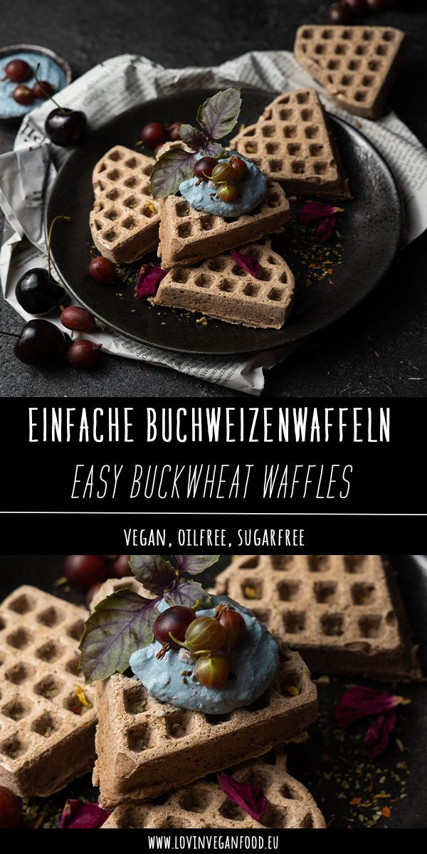 Easy Buckwheat Waffles