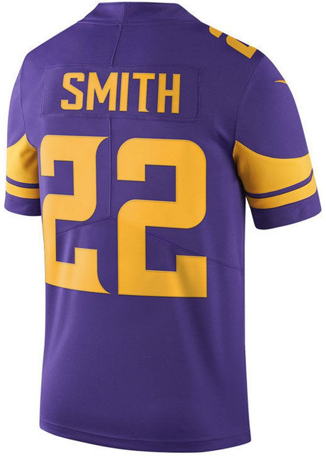 promo code dbf85 2e578 Nike Men Harrison Smith Minnesota Vikings Limited Color Rush ...
