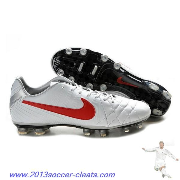 timeless design 8452a 84484 Buy Nike Tiempo Legend IV Elite FG White Red Silver Football ...