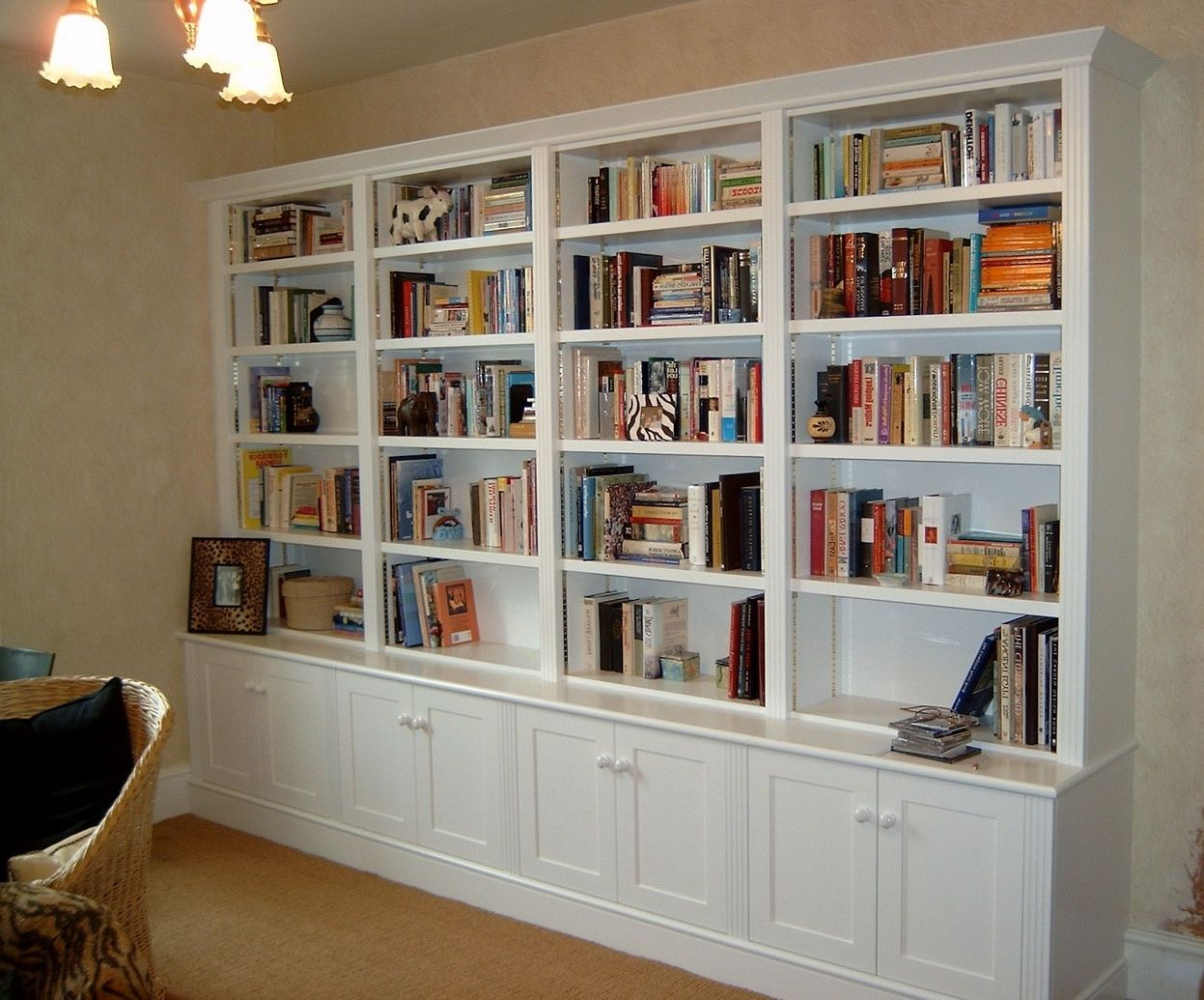 small home library with ladder - Google Search … | Library Ideas ...