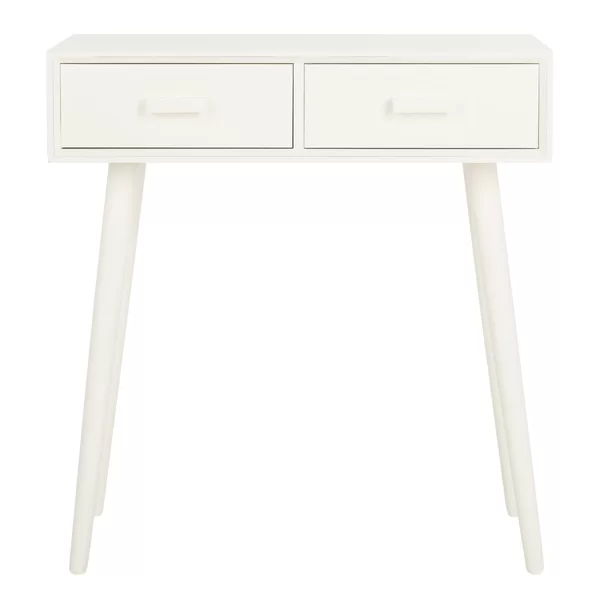 Orion 28 3 Console Table White Console Table Vanity Table Vintage Console Table
