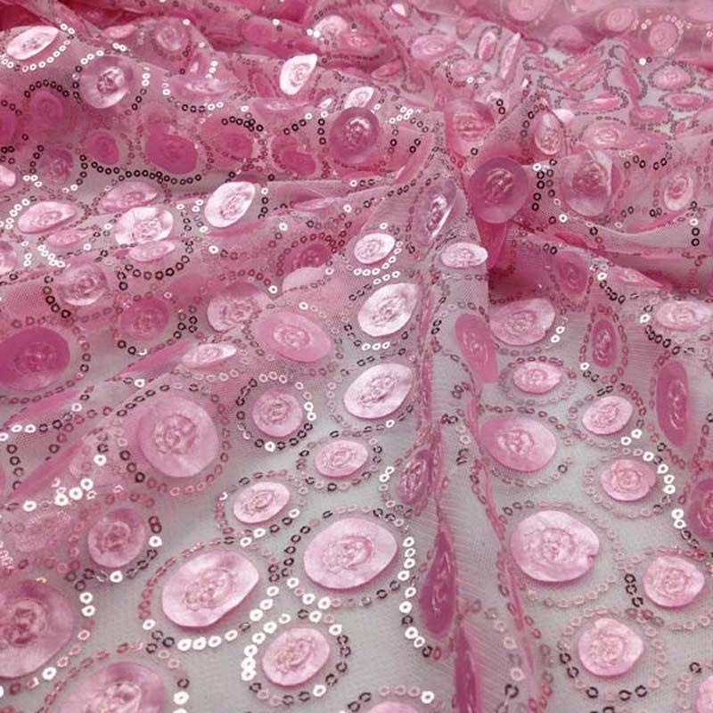 Aliexpress.com: Comprar Lentejuelas africano tela de encaje bordado ...