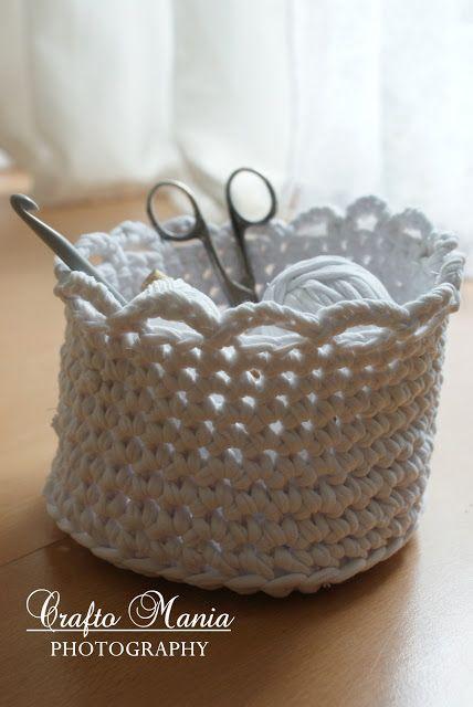 croched basket