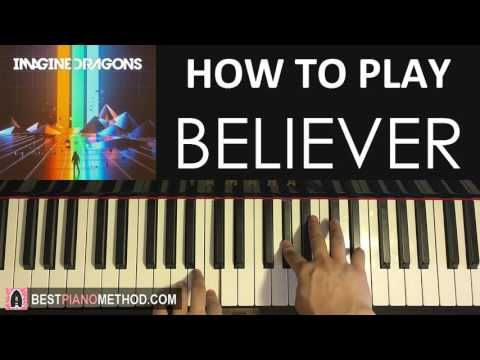 HOW TO PLAY - Imagine Dragons - Believer (Piano Tutorial