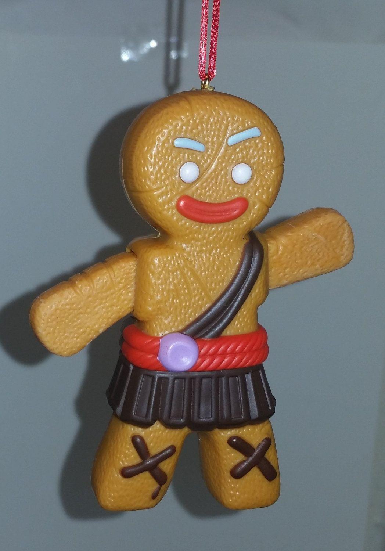 Gingerbread man ornaments - Shrek Gingerbread Man Custom Christmas Ornament Gingy By Guyzzanddolls On Etsy