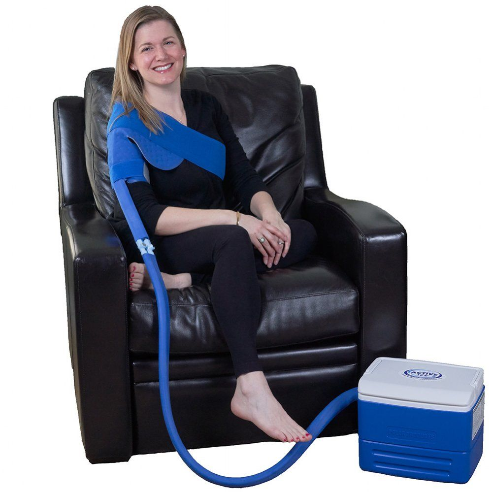 Active ice 30 shoulder cold therapy system with 9 quart