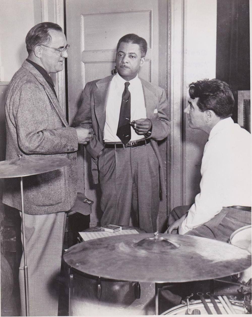 Benny Goodman trio with Teddy Wilson and Gene Krupa
