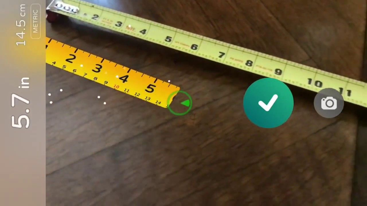 AR Measure, An Augmented Reality App That Turns Your Phone