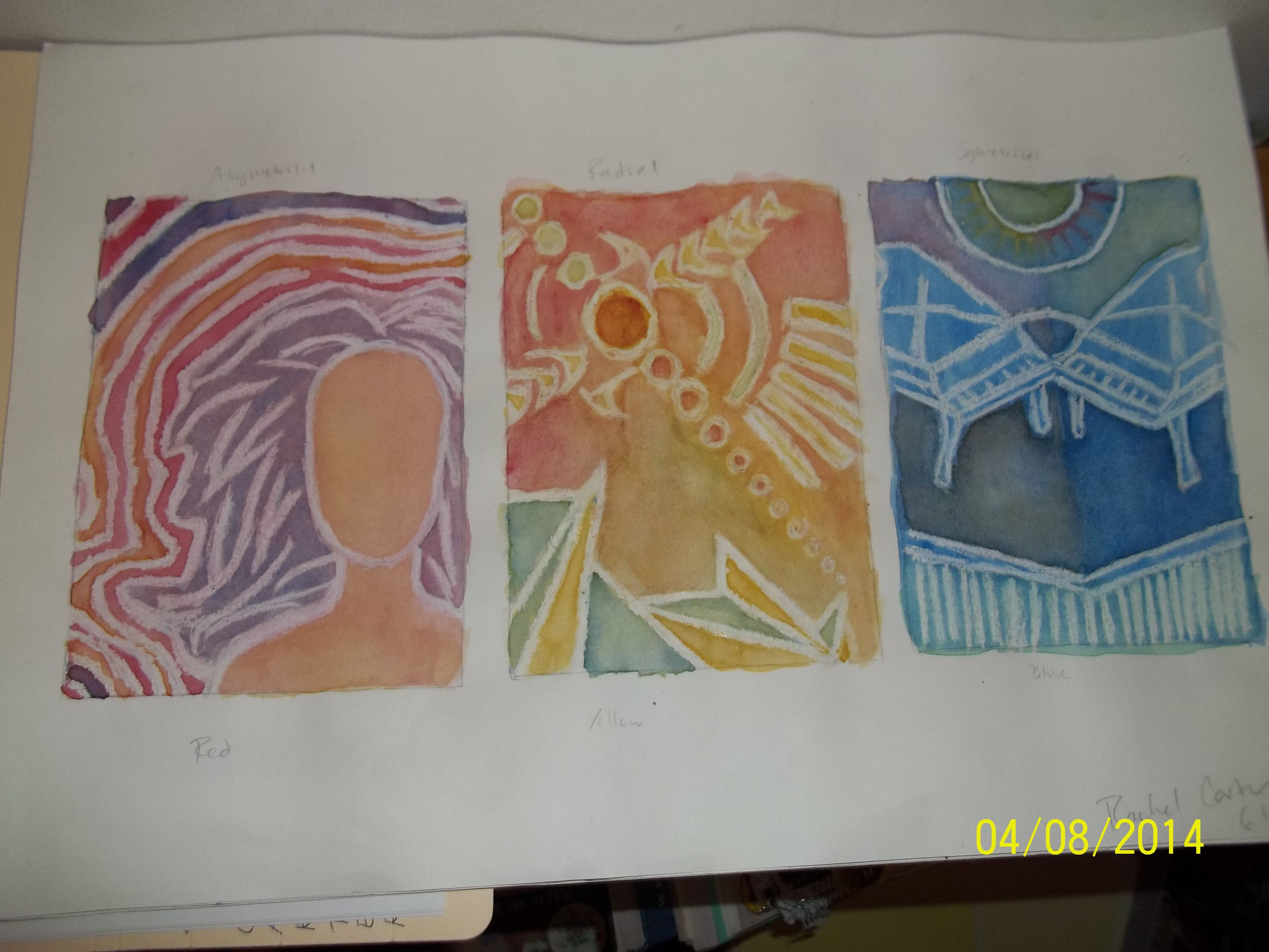 All Three Symmetry Types And Primary Colorogous