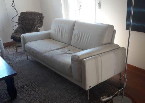 donne un superbe canap design 3 places cuir blanc tous les dons en france pinterest. Black Bedroom Furniture Sets. Home Design Ideas