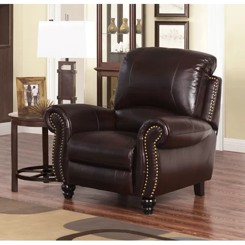 Groovy Tanguay Leather Manual Recliner In 2019 Furniture Chair Evergreenethics Interior Chair Design Evergreenethicsorg