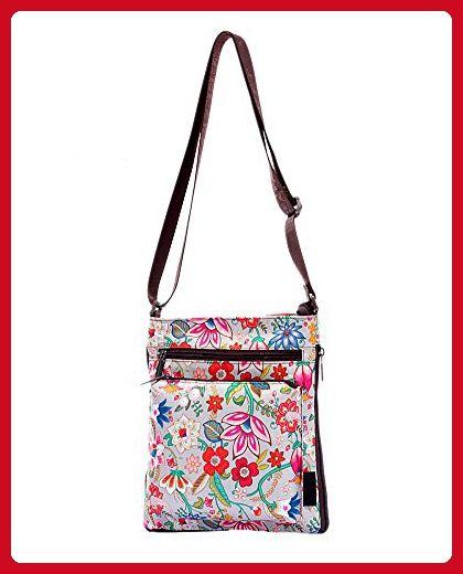 Prettybag Children Floral Knapsack Kids Shoulder School Satchel Backpack Bag 8018-rose - Satchels (*Amazon Partner-Link)