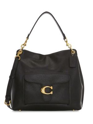 COACH Tabby Polished Pebble Leather Hobo Bag bags