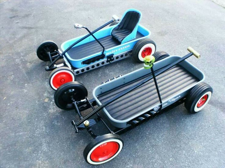 Hot rod wagons. | Toys | Toy wagon, Pedal cars e Radio ...