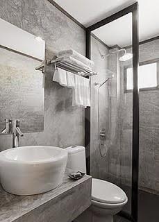 Ba os modernos peque os con ducha buscar con google - Decoracion de banos sencillos ...