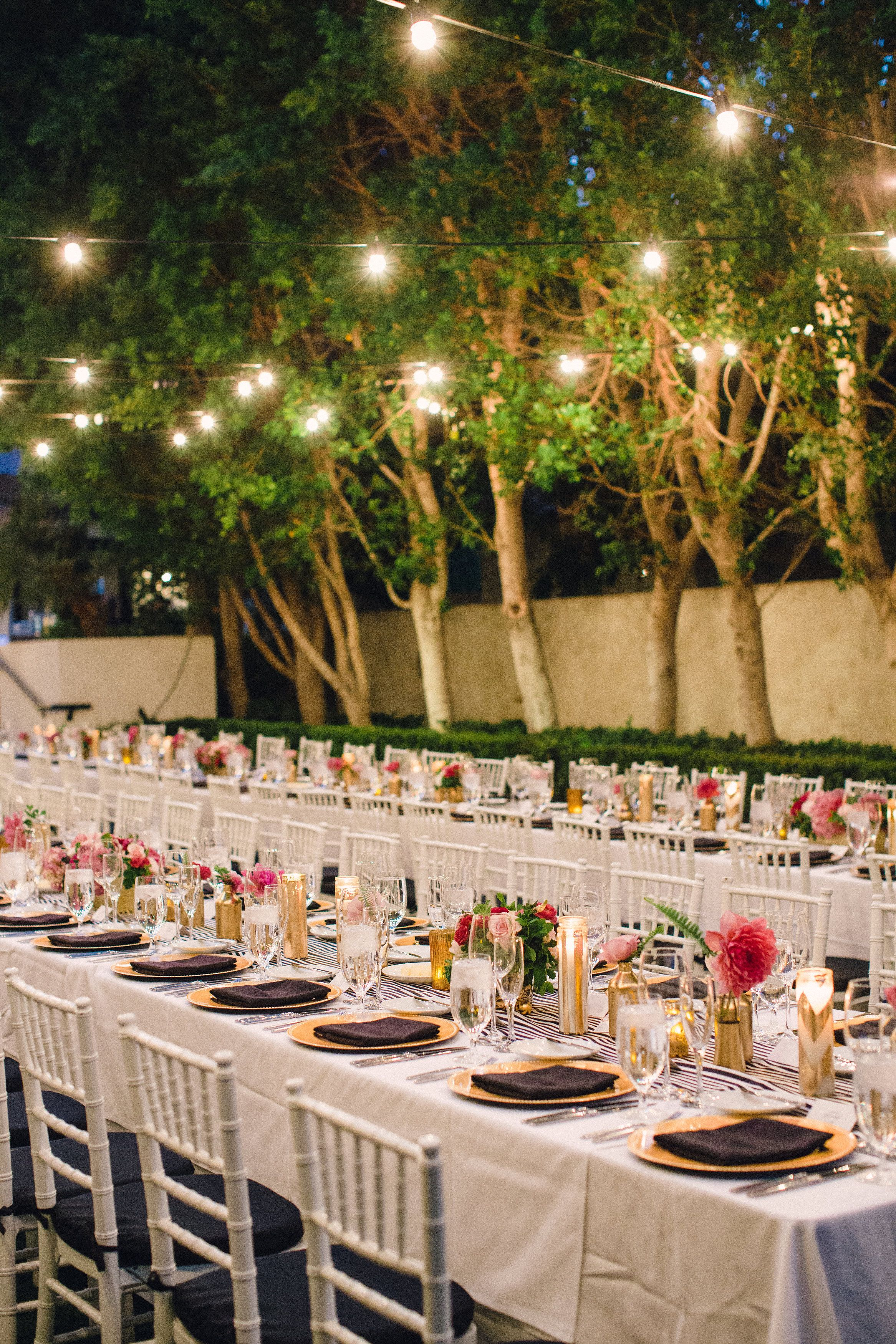 viceroy september wedding warm light gold u0026 black accents