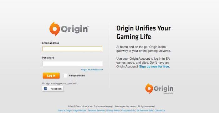 Origin Login | Login Monitors | The originals, Ea games, Mac games