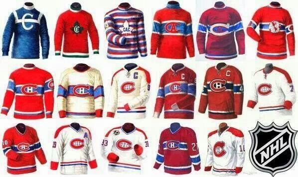 montreal canadiens jersey history - Google Search