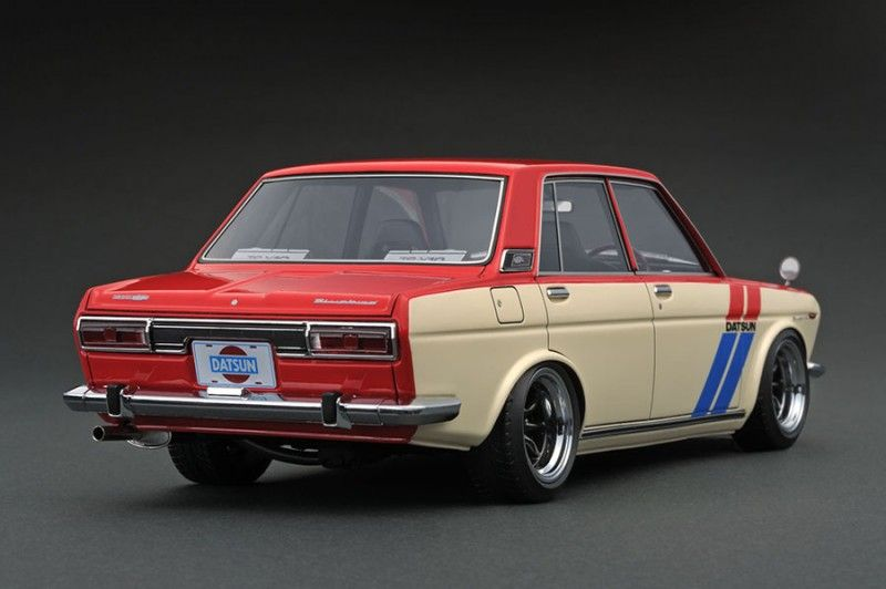 Nissan Datsun Bluebird Sss 510 Red White Ignition Model