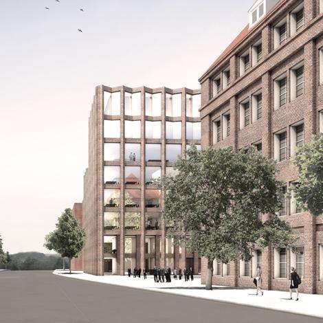 Architektur Lübeck max dudler architekt drägerwerke haus 72 lübeck facade
