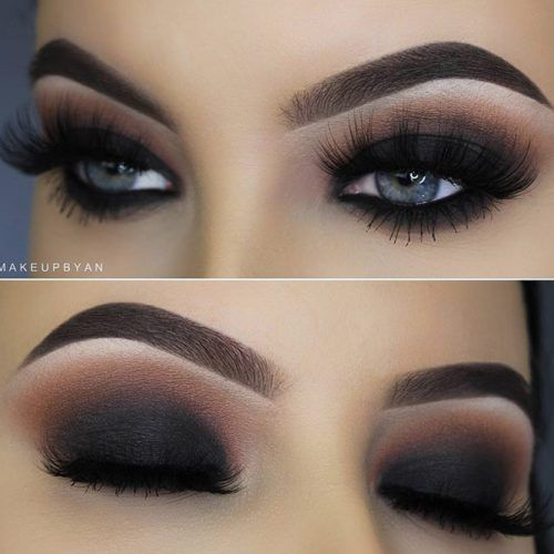 Photo of 48 Smokey Eye Ideas & Looks to Steal from Celebrities – #amp #Eye #Ideas #promi …