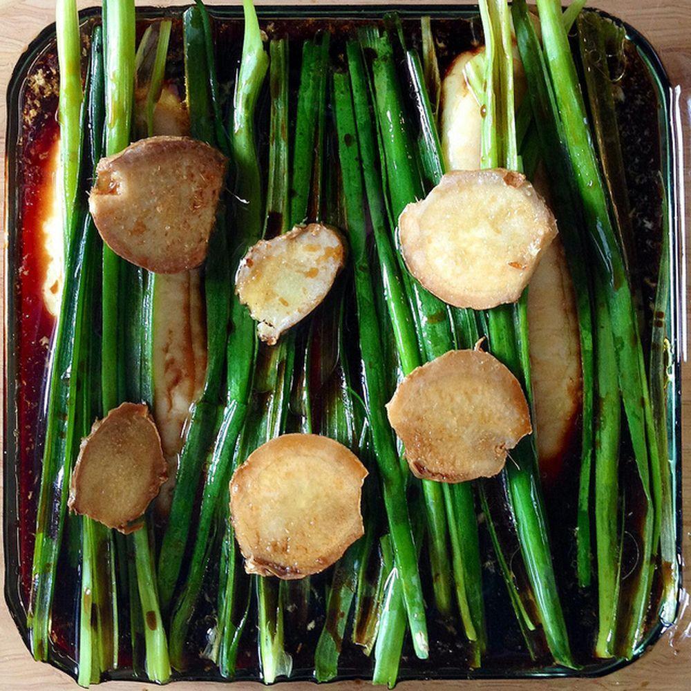 Grace's Ginger Scallion Fish recipe on Food52