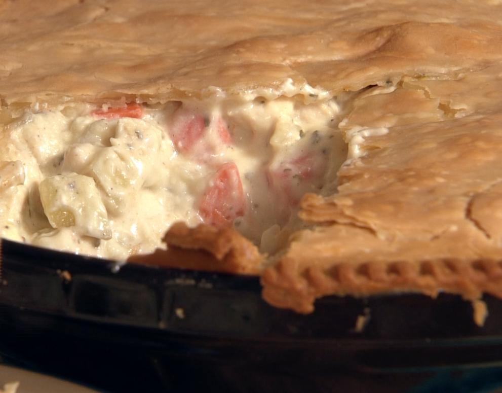 Chicken Pie. Quick, easy, delicious!