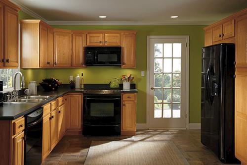 Value Choice 36 Huron Oak Easy Reach Kitchen Corner Base Cabinet Kitchen Cabinets Kitchen Kitchen Cabinet Molding