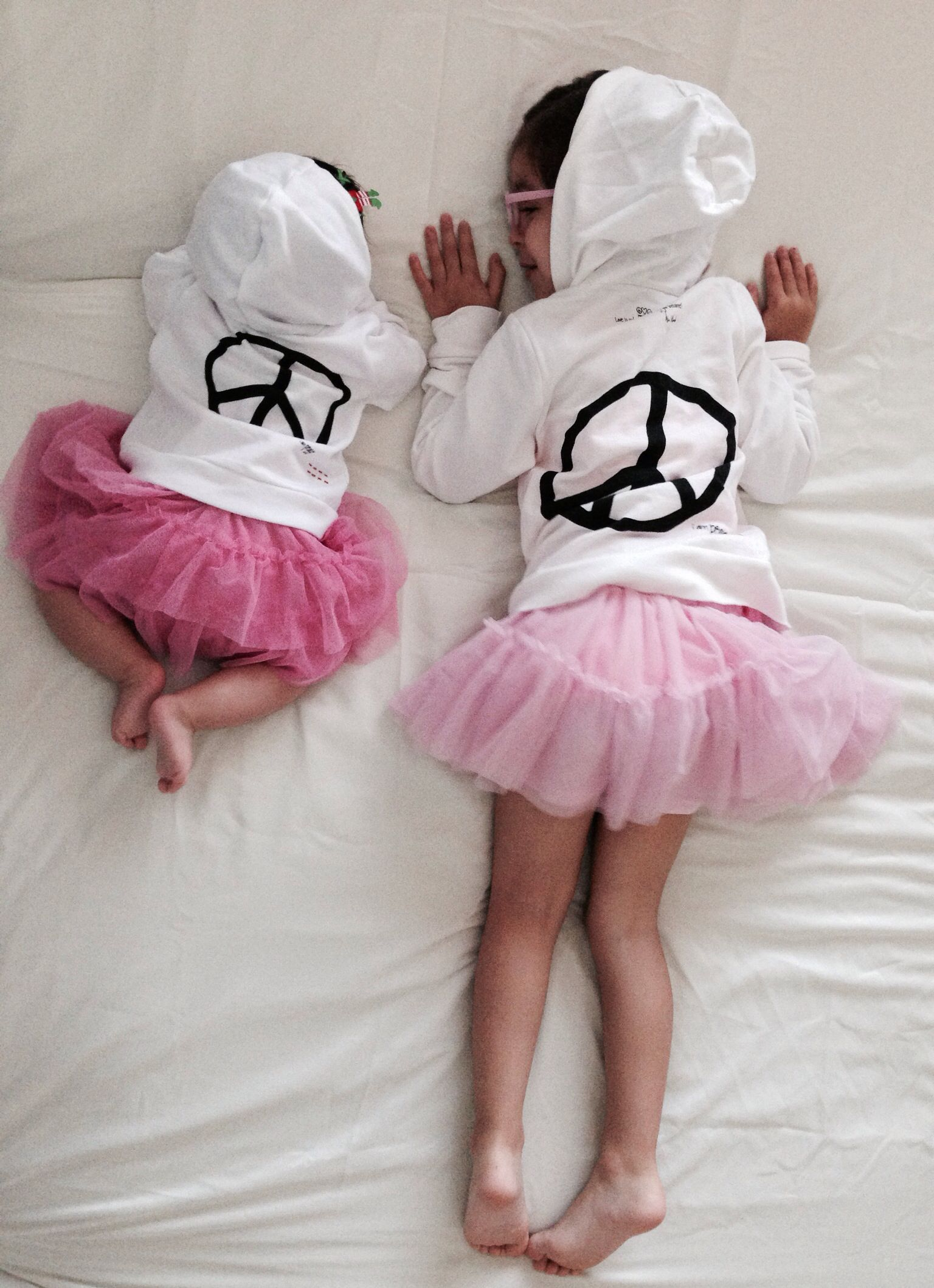 Sisters; peace; love; pictures
