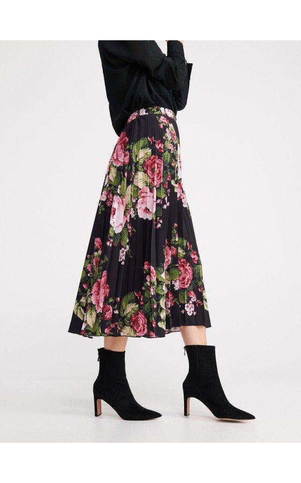 Spodnica W Kwiaty Spodnice Wielobarwny Reserved Floral Skirt Skirts Fashion