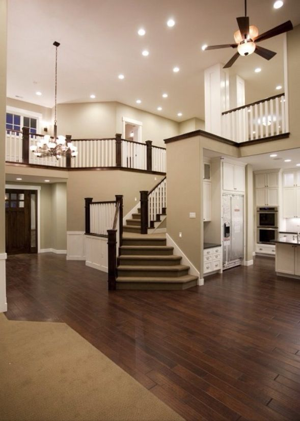 Open Floor Plan Houses Inside And Out Home Decor Traditional Family Rooms