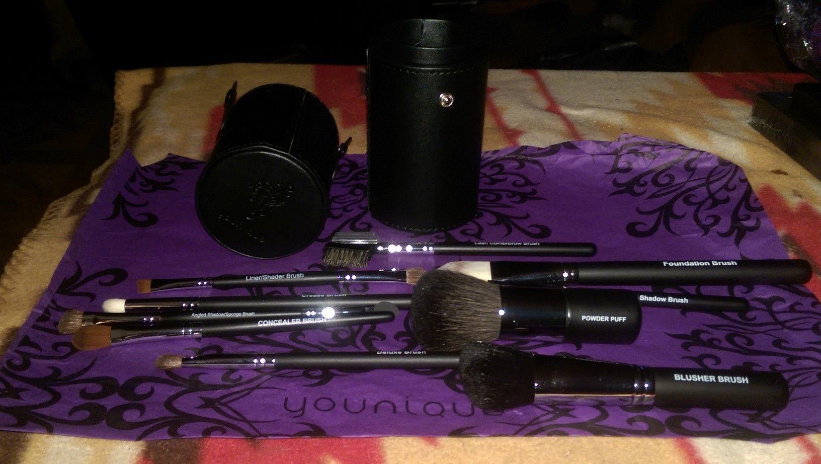Complete Brush Set, Lash Comb/Brow Brush ,Cream Shadow