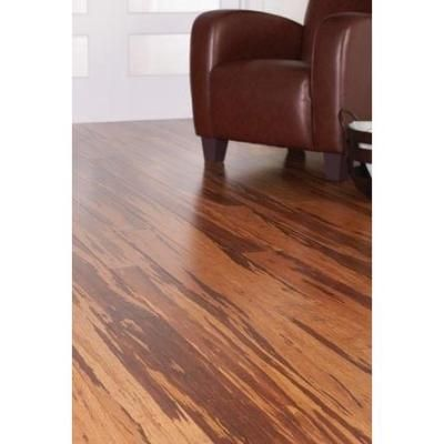 Home Decorators Collection Strand Woven Honey Tigerstripe 3 8 In T X 5 1 8 In W X 72 In L Engineered Click Bamboo Flooring Hd13005a The Home Depot Bamboo Flooring Flooring Home Decorators Collection