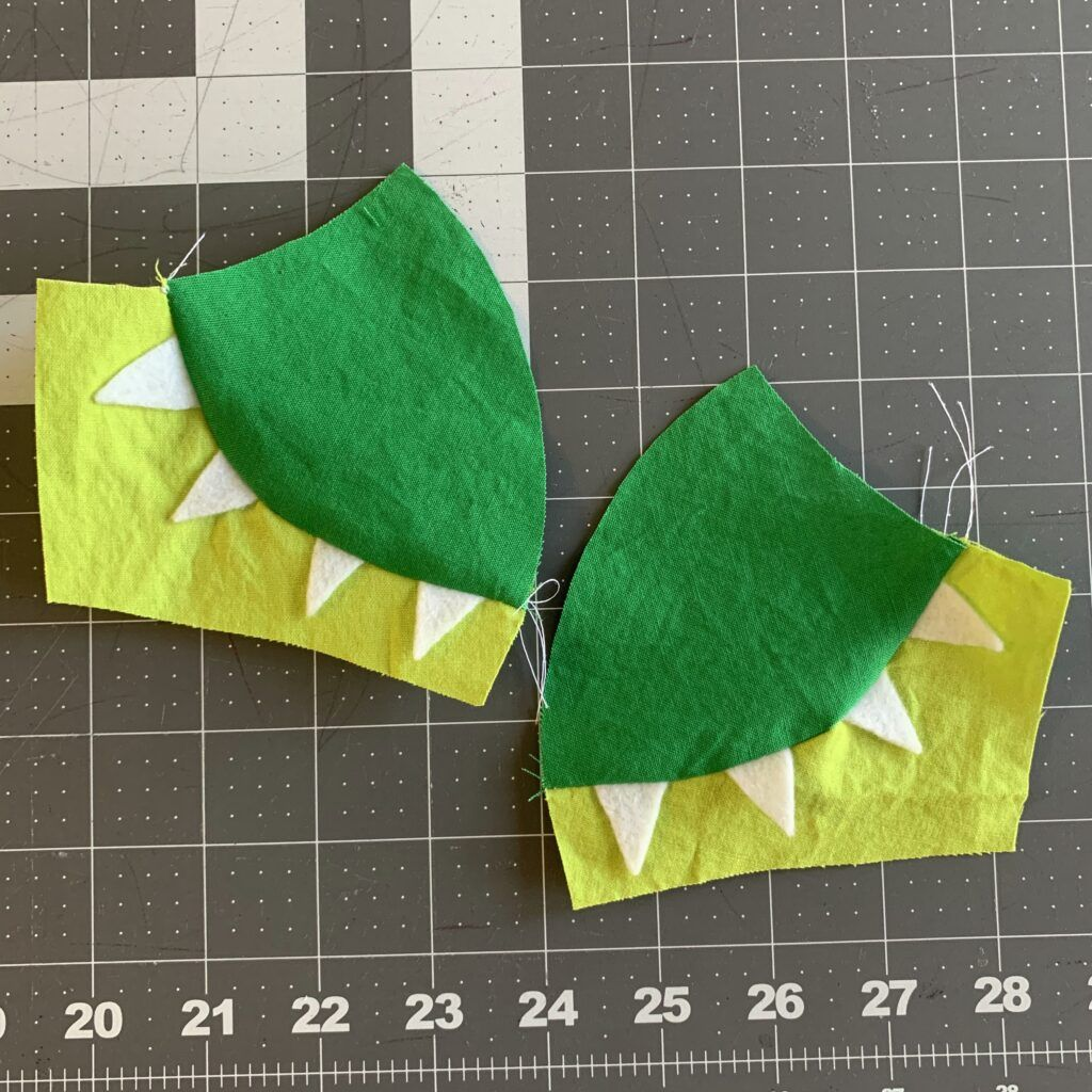 Photo of How to Make a Dinosaur Cloth Face Mask