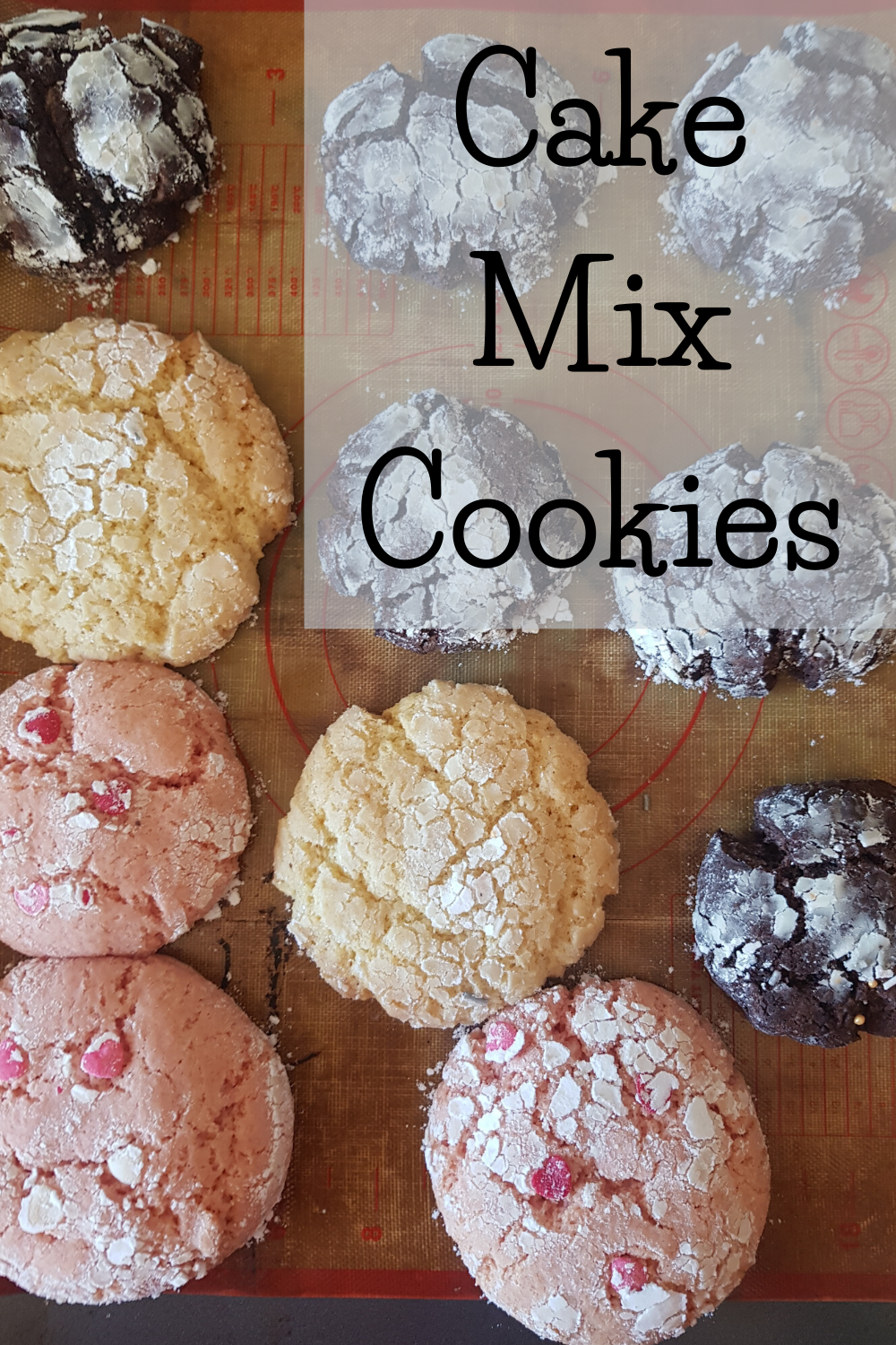 Cake Mix Cookies Sweet As Creations Recipe In 2020 Cake Mix Cookies Cake Mix Cookie Recipes Cake Mix