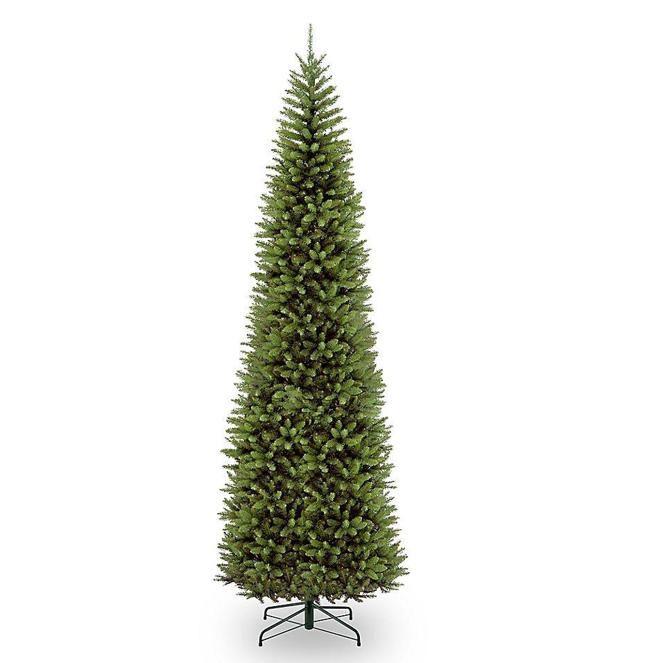 National Tree Company Kingswood Fir Pencil Christmas Tree Bed Bath Beyond Pencil Christmas Tree Pencil Trees Artificial Christmas Tree