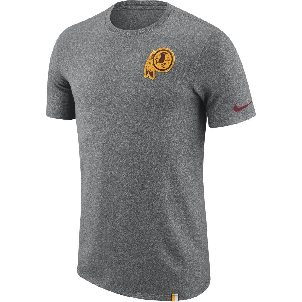 Nike Dry Marled Patch (NFL Redskins) Men s T-Shirt Size  7b6f6d3de