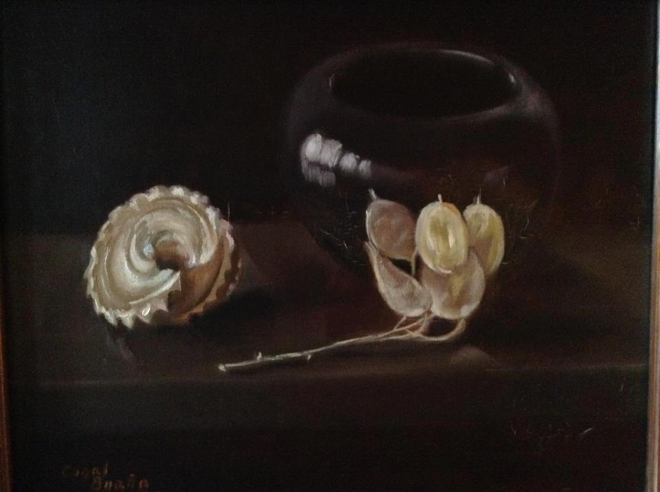 Black'studies. Óleo sobre lienzo por Coral Braña.