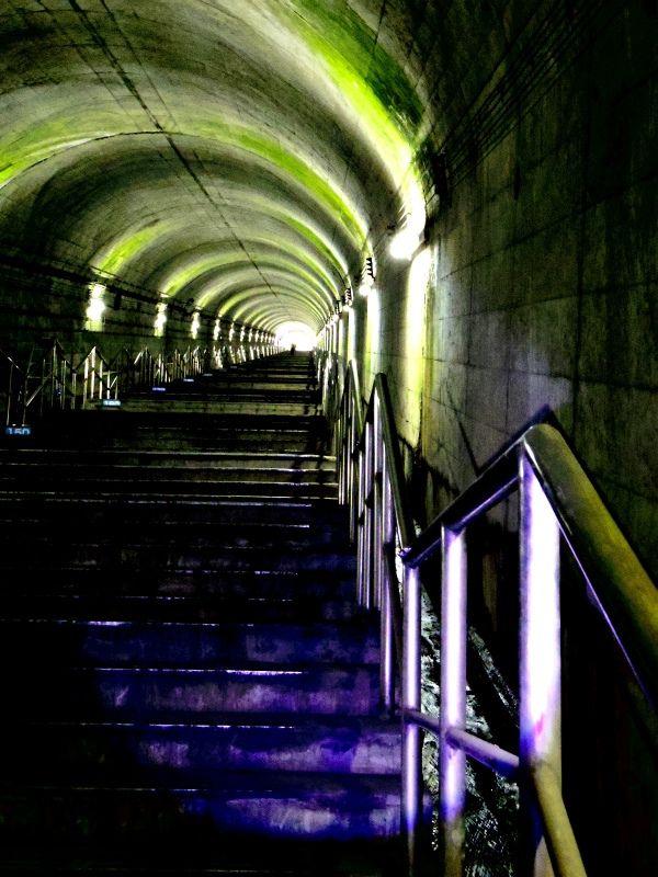 Pentax Q 土合駅の階段 Camera Talk 駅 階段 写真 共有