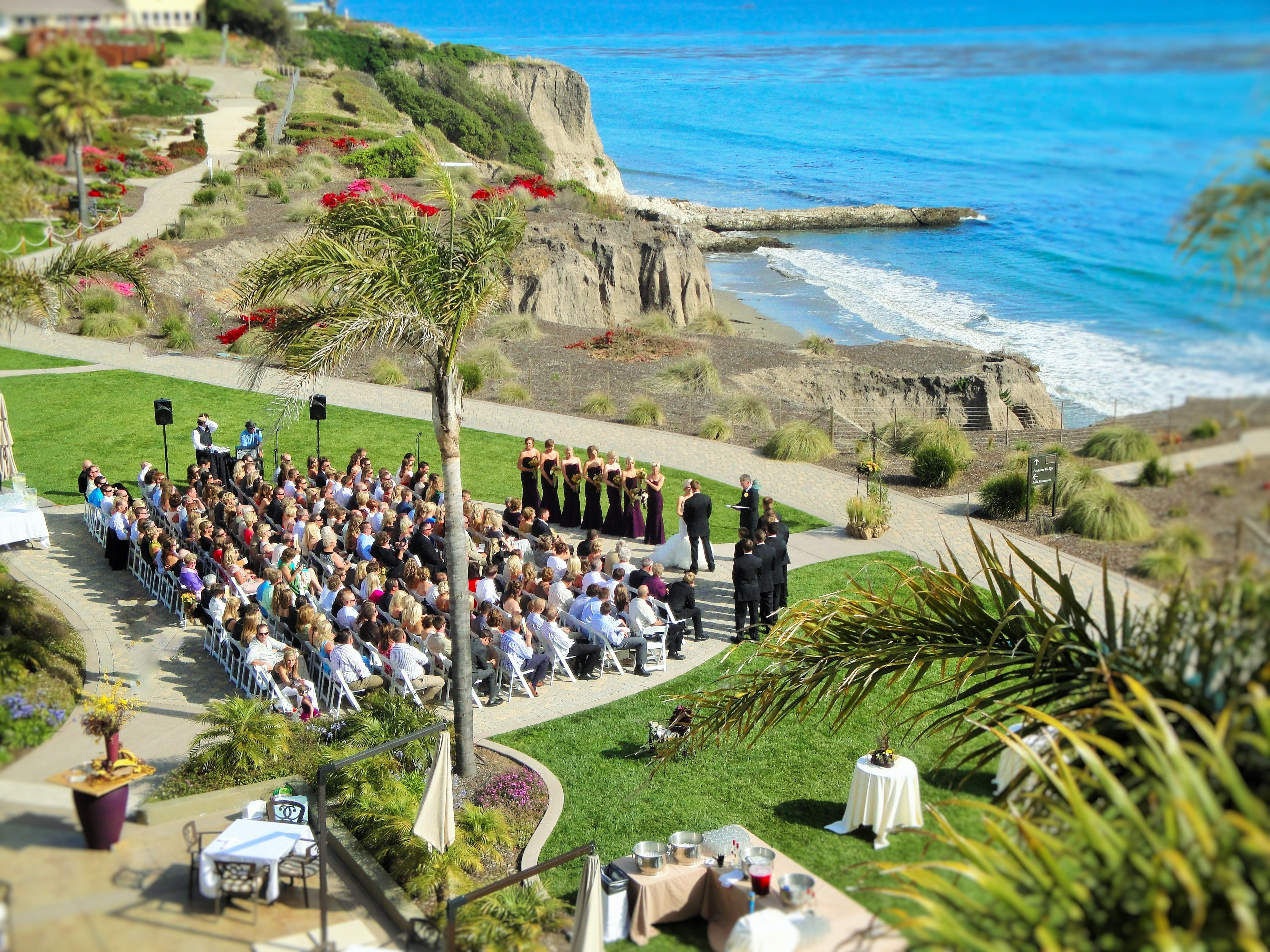 Gorgeous Oceanside Wedding At Dolphin Bay Resort Spa In Pismo Beach