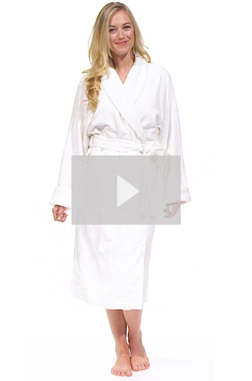 fd1f5aae82 Fishers Finery Women s Premier Turkish Style Spa Robe - Terry Cloth Robe