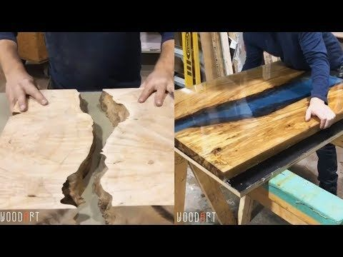 90+ Elegant Resin Wood DIY Woodworking Projects | Resin Wood