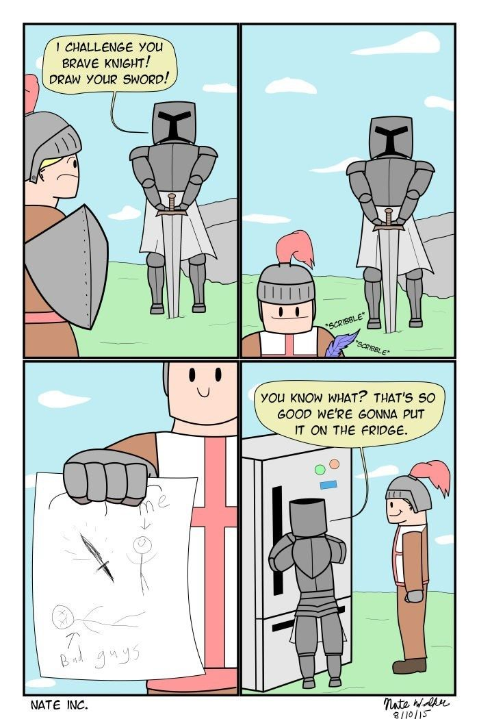 Draw Your Sword Reddit Funny Funny Pictures Funny Comics