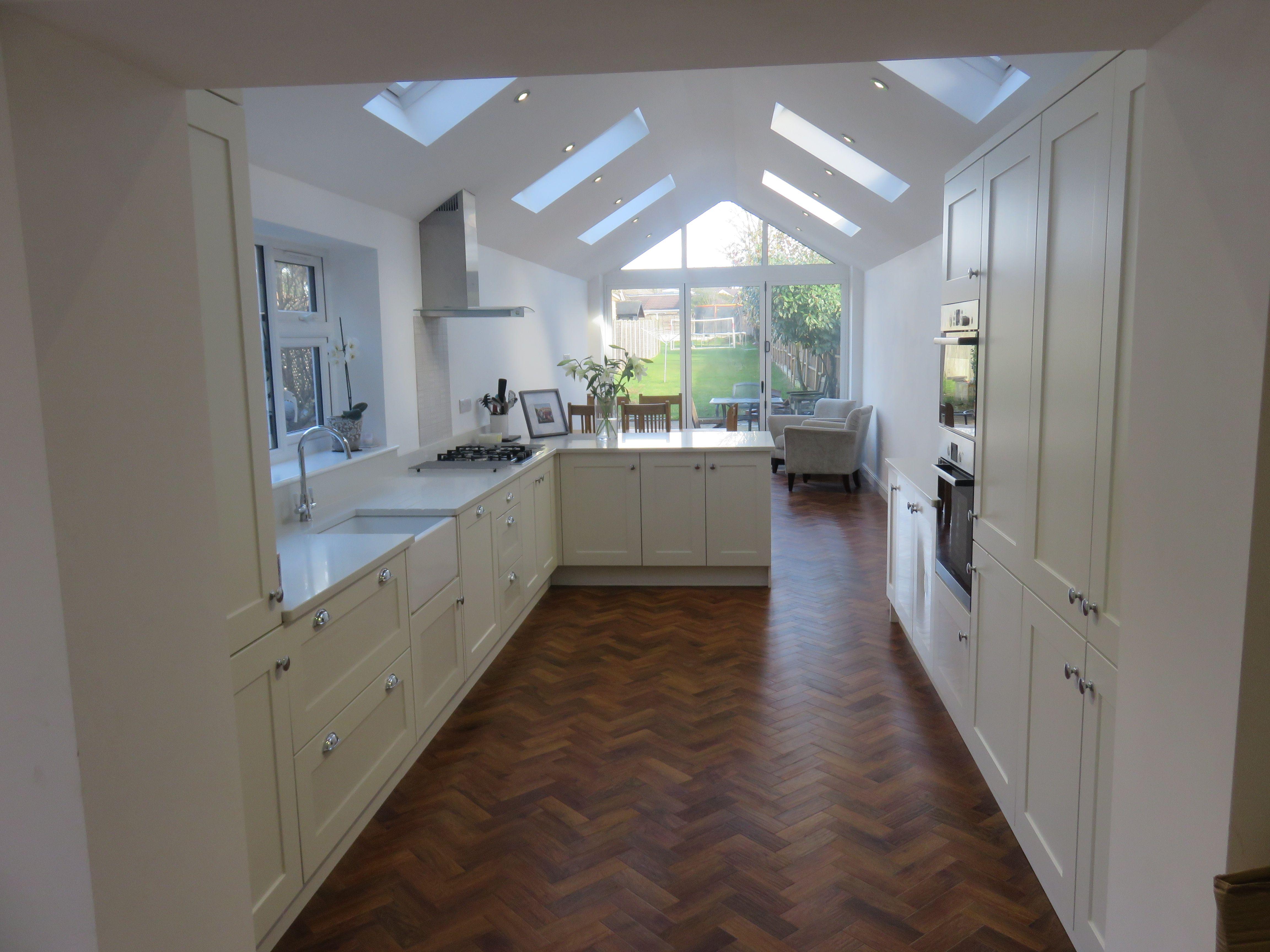 Shaker door kitchen for clients in Hagley
